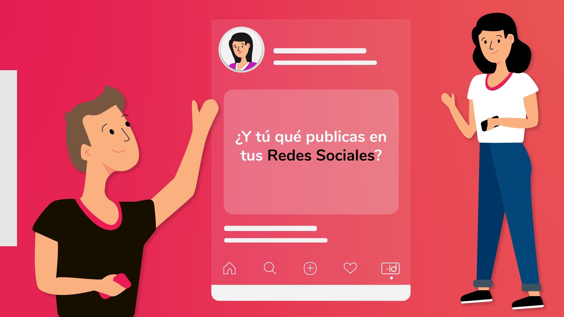 ¿Y tú qué publicas en redes sociales?