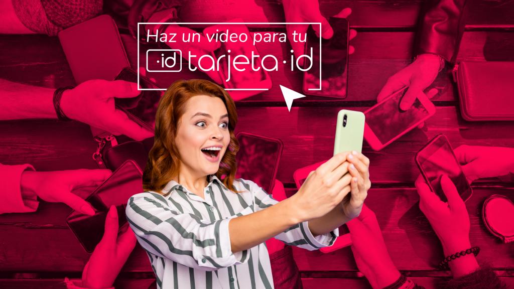 Crea videos para tu tarjeta id
